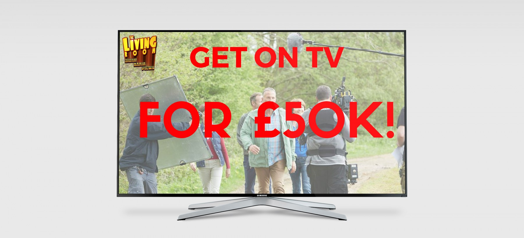 Get your brand on tv for £50k